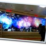 東京駅構内のデジタルサイネージ